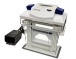 Mini-gel electrophoresis system with built-in power supply