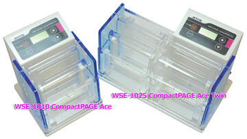 New Release! Compact size electrophoresis system